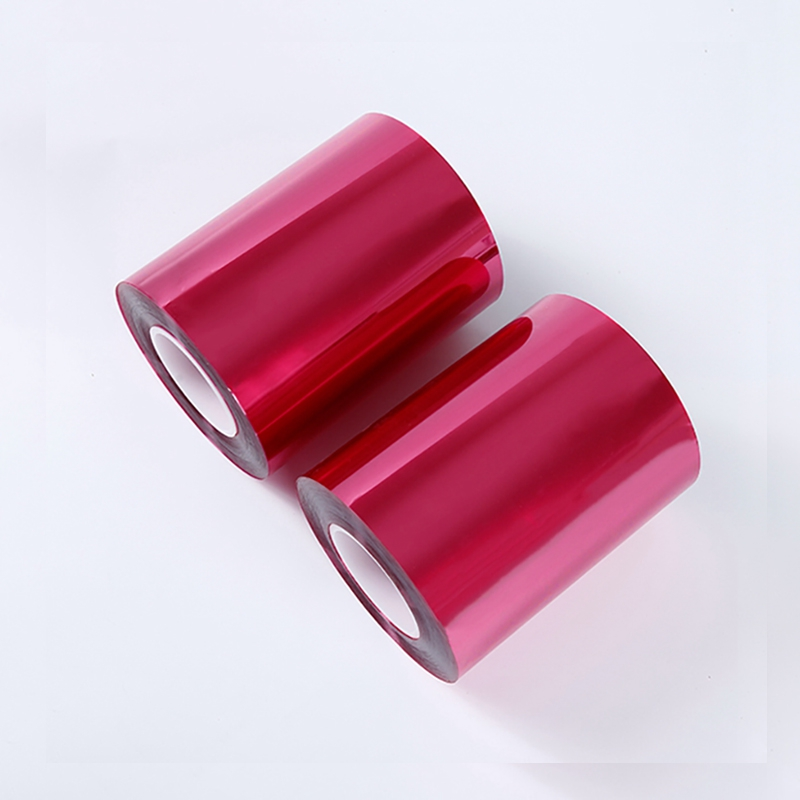 Translucent red coil