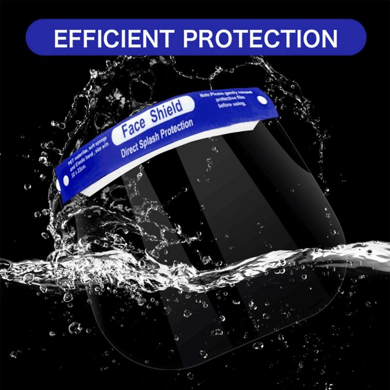 Custom-Made Transparent Anti Fog Dental Face Shield