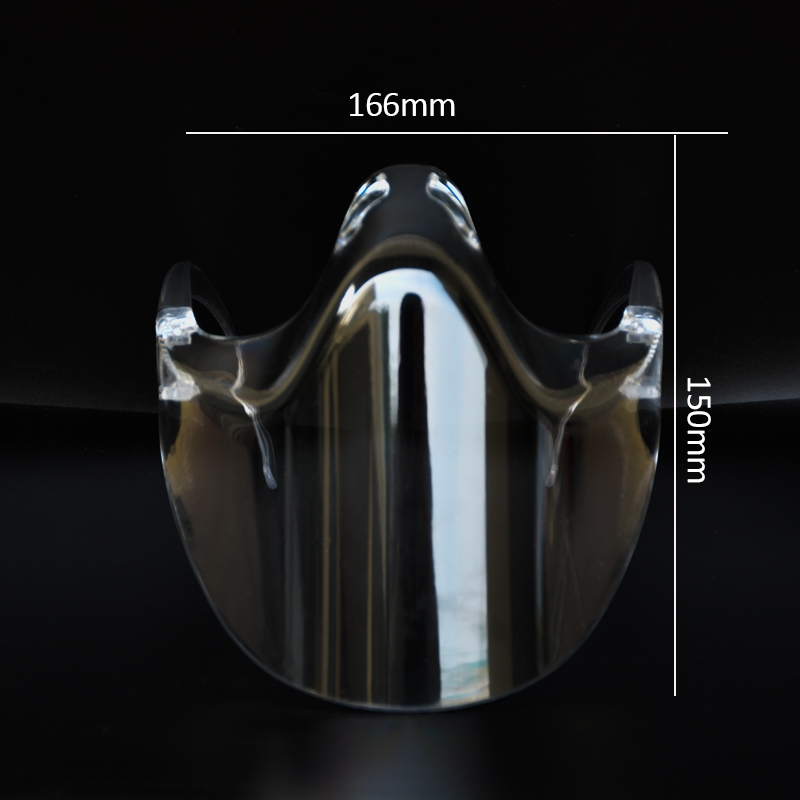 Factory Wholesale High Quality New Products Face Shield With See Through Mouth