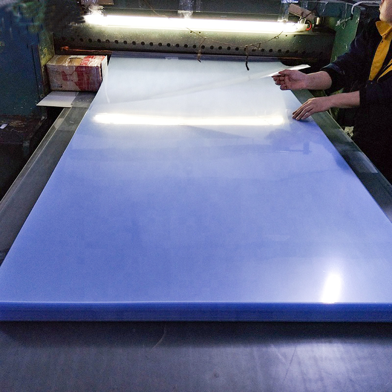 Hot Sale 1220X2440mm 1mm Hard Surface PVC Sheet for Laser Cutting