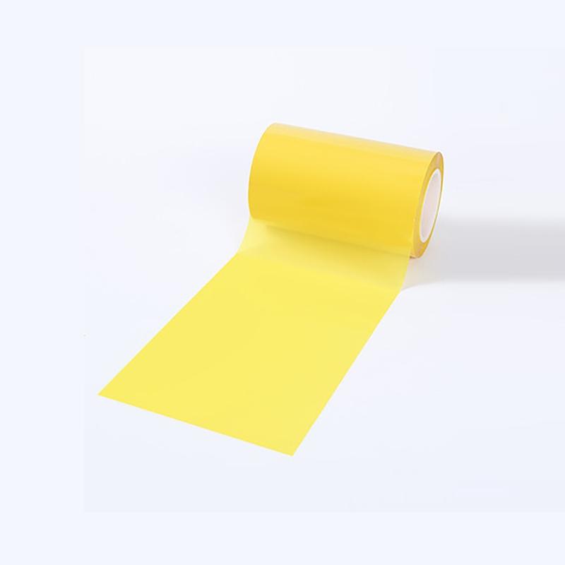Translucent yellow coil