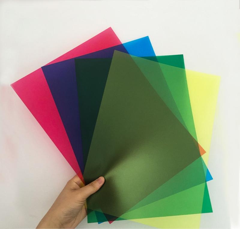 Color matte film