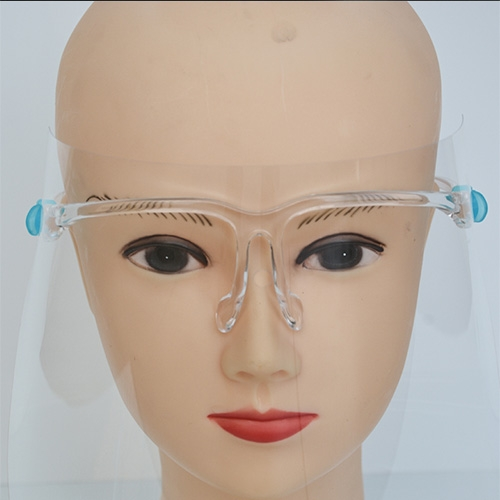 Anti Fog Restaurant Special Safety Protective Glasses Face Guard Shield With 10 Shields