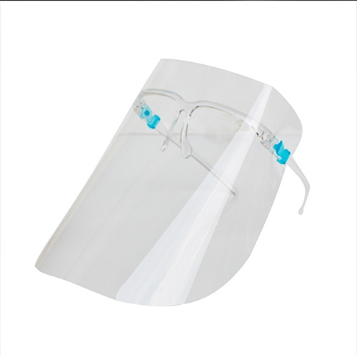 Plastic Transparent Protector Anti Splash Full Facial Face Protection Glasses Face Guard Shield