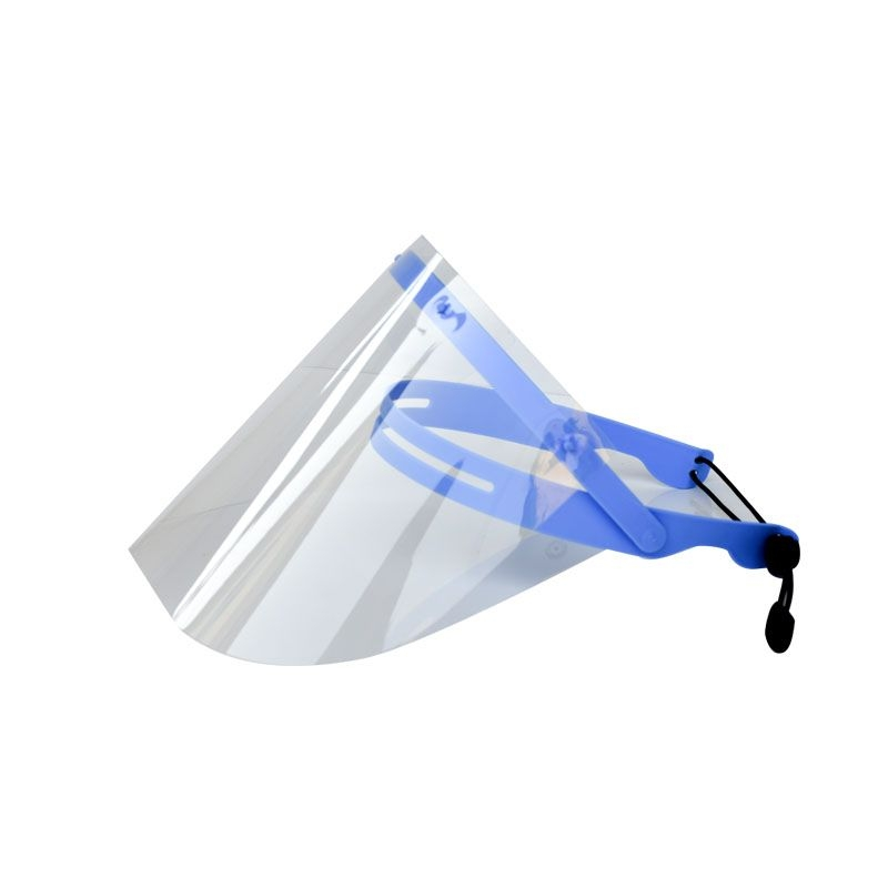 0.25mm Adjustable Clear Safety Protection Face Shield Visors