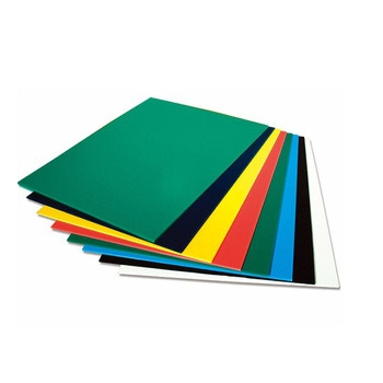 Color Plastic PP sheet For making office stationery