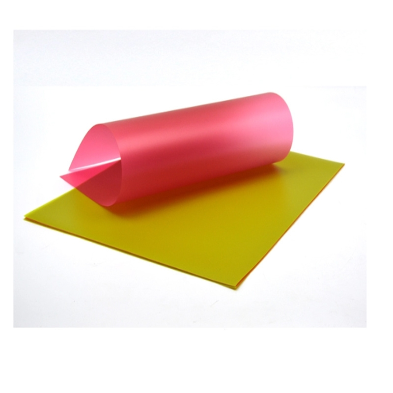 Color Plastic Translucent PP sheet For Notebook Cover