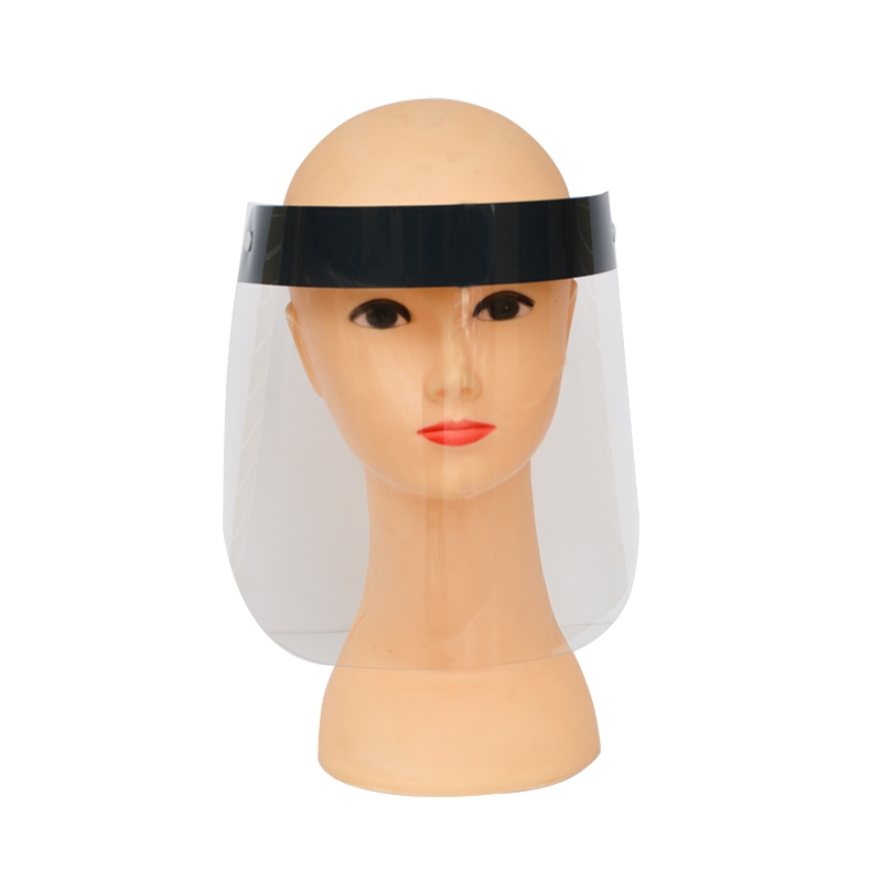 OEM Anti Fog Transparent Disposable Plastic Safety Face Cover Protective Face Shield