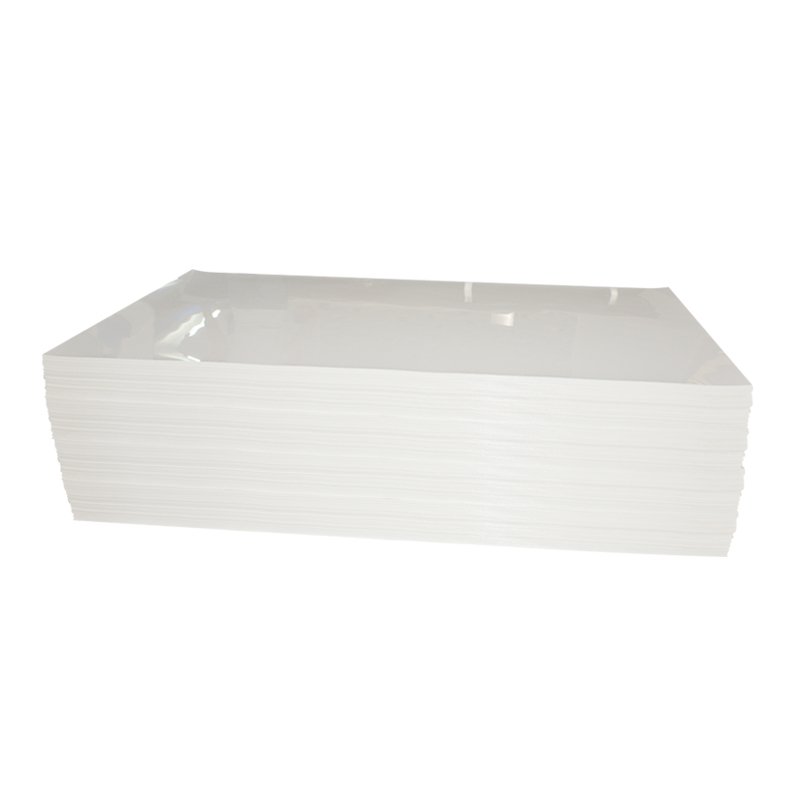 Anti-Scratch 48 White Daisy Solid Color Plastic PETG Sheet for Furniture Panel