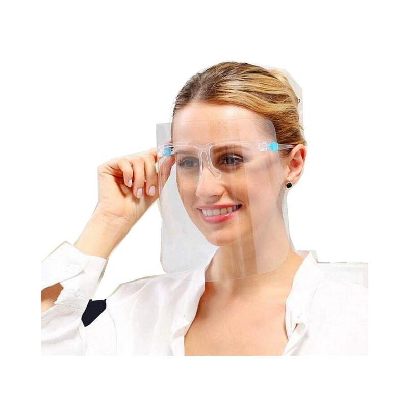 2020 Popular Factory Kitchen Anti-Oil Eyeglasses Plastic Face Shield Glass